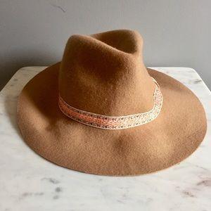 95a54e89fe2588 100% Wool Felt Soft Floppy Fedora/Panama Hat